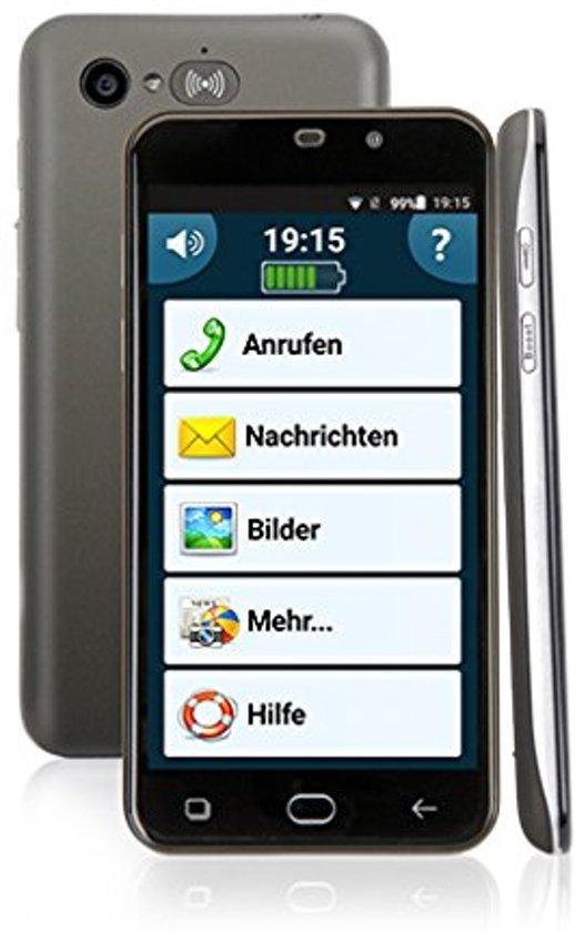 senioren telefoon smartphone amplicomms