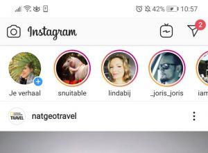 hoe werkt instagram stories