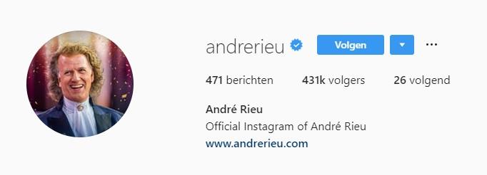 instagram blauwe vinkjes