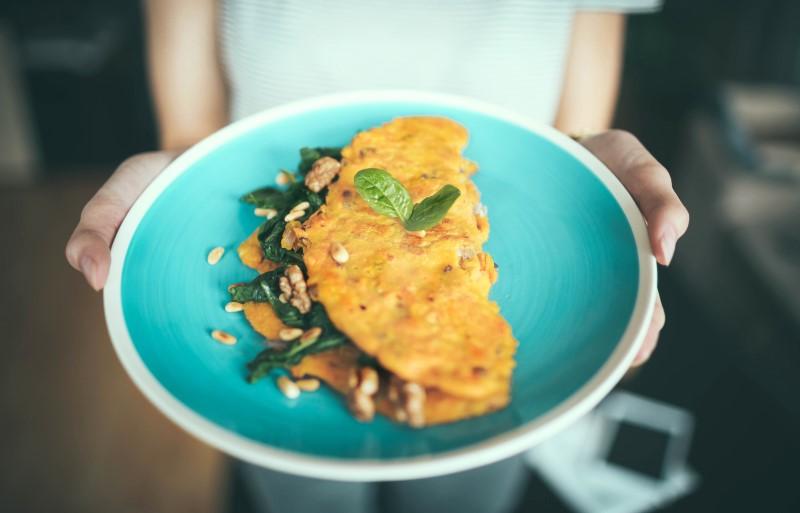 eiwitten eten omelet
