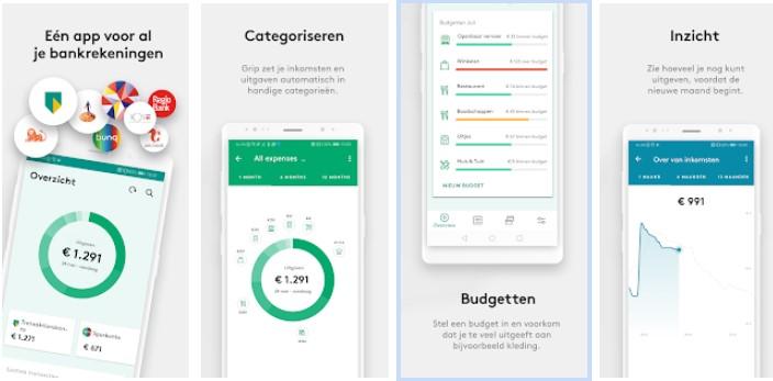 Huishoudboekje app