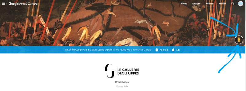 online-museumbezoek-uffizi