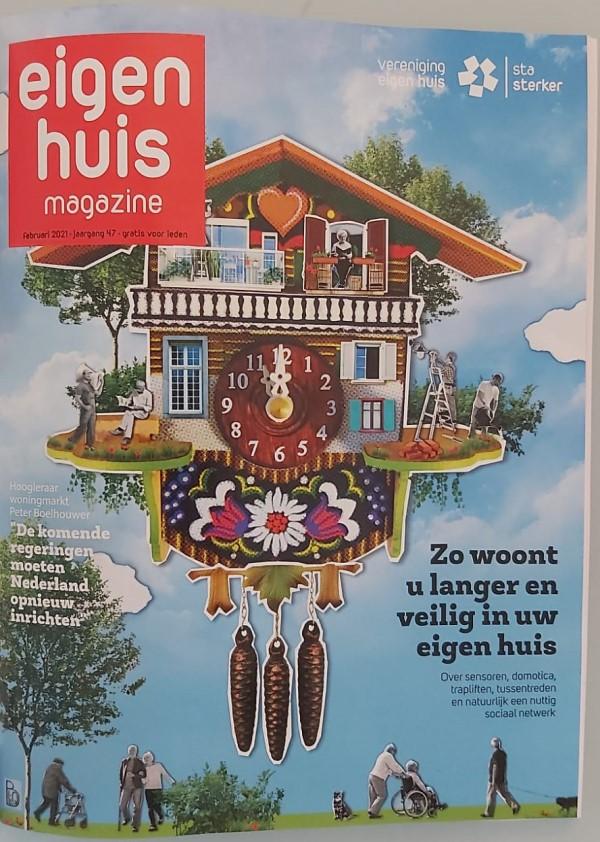 eigen huis magazine interview cover
